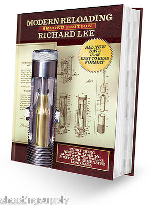 Lee 2nd Edition Reloading Hardcover Book NEW Lee Latest Edition #90277
