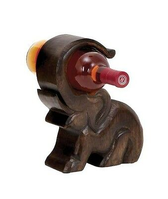 Woodland Import 14420 Design Wood Wine Holder with Great Finesse. Shipping Inclu