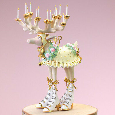 Patience Brewster Moonbeam Christmas – Mini Donna Reindeer Ornament 31241