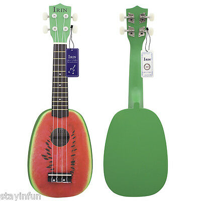 IRIN 21 inch 4 String Hawaii Basswood Ukulele Watermelon  Musical Instrument