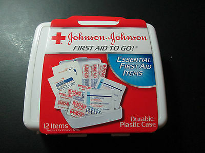 Johnson & Johnson First Aid to Go! Essential First Aid Items - 12 items -  Nice!