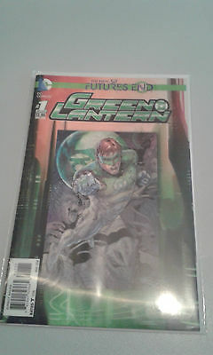 Green Lantern Futures End New 52 3D Cover