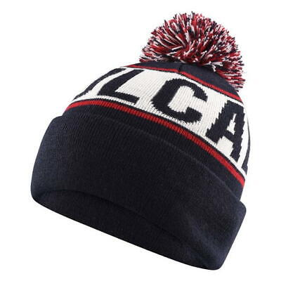 99f0a44843b Mens Navy Black Blue Maroon Soulcal Cable Bobble Hat Knit Knitted Ski Winter