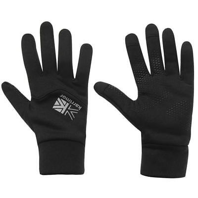 Black Karrimor Thermal Running Gloves Touch Screen Compatible Smartphone L/xl