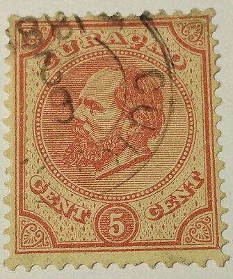 Curacao   Scott#3  Cat Value At $13.00 Used......worldwide Stamps