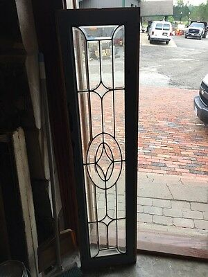 Sg 837 Antique All Beveled Glass Transom Or Sidelight Window