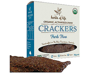 Herbs of Life Herb Flax Crackers 90g
