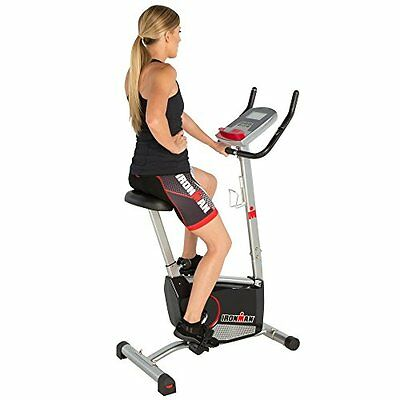 Ironman Fitness IRONMAN H-Class 210 Magnetic Upright Bike with 21 Computer