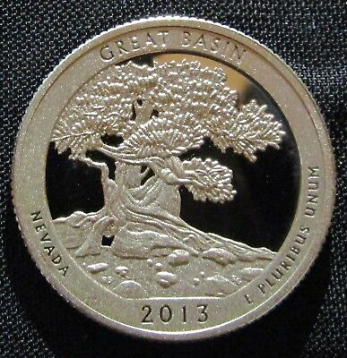 2013-S 25C Great Basin NP - Silver DC (Proof) America the Beautiful Quarter
