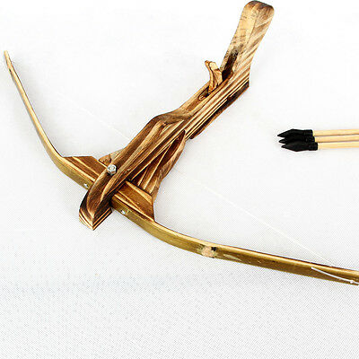 GIFT TOY Wooden Arrow Quiver For Kids Children Youth