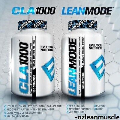 EVL LEANMODE 150/90 Caps|CLA 1000|WEIGHT LOSS|FAT BURNER|LEAN MODE|QUADRALEAN|