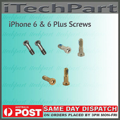 2 x Bottom Screws Pentalobe Replacement For iPhone 6 & 6 Plus