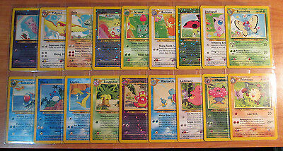 NM COMPLETE Pokemon SOUTHERN ISLAND Card PROMO Set/18 Rainbow Mew Collection 151