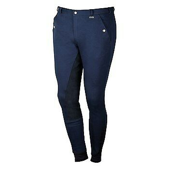 Breeches Beijing II Plus men NAVY-by Harry's Horse 26000292- RRP $129.95