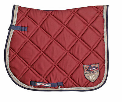 Saddle Cloth Sporty by HKM - 3122 RRP $59.95 in Chocolate, Jeans, Navy, Wine Red