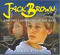 JACK BROWN AND THE LABYRINTH OF THE BATS - 3 AUDIO CDs