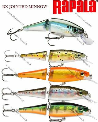 Rapala BX Jointed Minnow 9cm Diving Lures Blue Back Herring