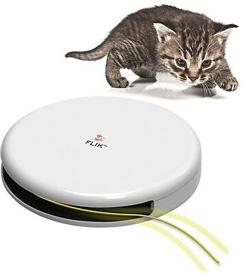 FroliCat FLIK Interactive Teaser Automatic Innovatively Designed Cat Fun Toy