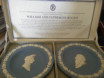 WEDGWOOD sweet dishes William and Catherine Booth 1970's