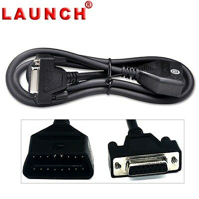NEW 100% Genuine Launch OBD2 EOBD 16 Pin Main Test Cable For Creader VII+ VIII
