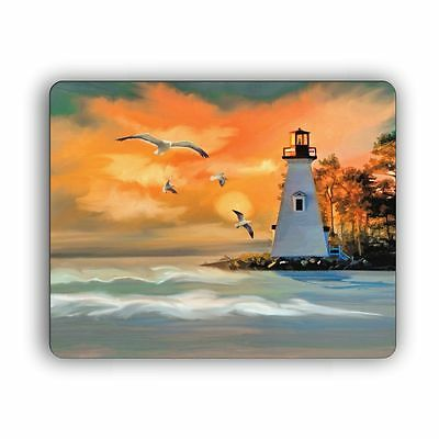 Computer Mouse Pad Evening Lighthouse Desktop PC Mousepad