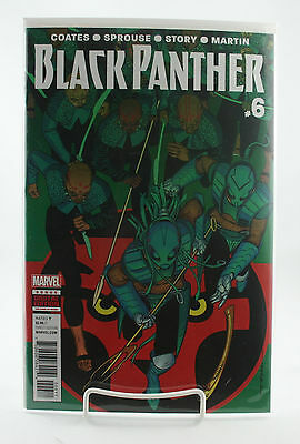 Black Panther #6! 1st Print! Unread! Marvel! Coates Sprouse Story! NM! 2016