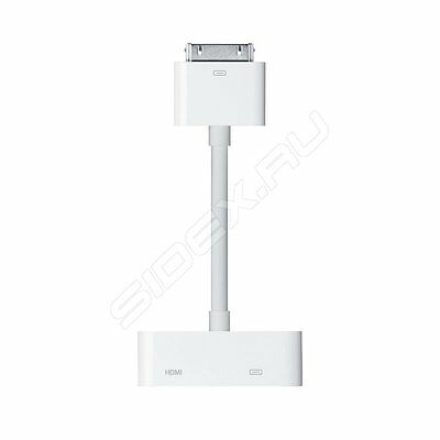 Genuine Apple AV Adapter Connector to HDMI TV for iPhone 4s iPad 2 3 - 1st Class