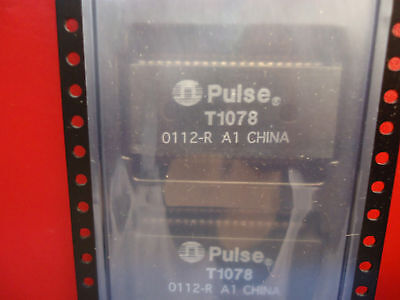 220 ~ PULSE # T1078T TELECOM TRANSFORMER 1500Vrms SMD NEW