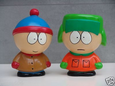 2 x 1999 Vintage South Park Figuren 15 cm - a la carte Germany - Comedy Central