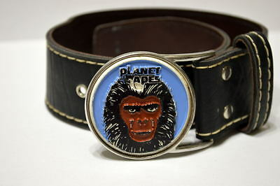 RARE 1967 PLANET of the APES BELT w METAL BUCKLE Lee / 20th Century Fox URSUS