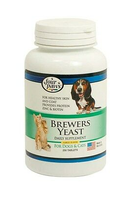 Four Paws Brewers Yeast Tablets with Garlic 250ct