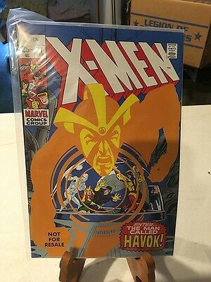 The Uncanny X-Men 97 with Variant 58 Cover Havok Neal Adams Cover Marvel Legends