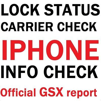 Iphone Carrier blacklist unlock purchase date warranty contract check GSX report