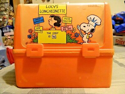 Peanuts Lucy's Snoopy Lunchbox (Plastic, Charles M. Schulz, 1965)