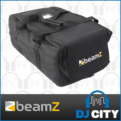 Beamz AC-131 Lighting Effect Carry Bag DJ Equipment 2 Compartment Soft Case