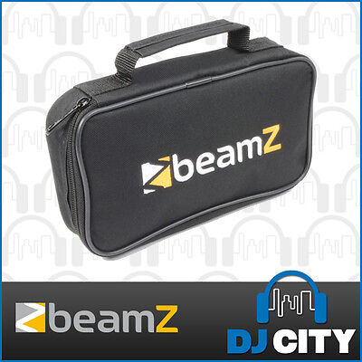 Beamz AC-60 Lighting Effect Carry Bag DJ Equipment 2 Compartment Soft Case