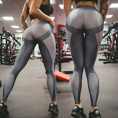 Sexy Women Sport Gym Yoga Sports Legging Pants Fitness Workout Running Trousers