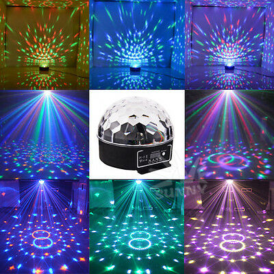 RGB Effect DJ Light LED Stage Lighting Laser Magic Ball Party Multifunctional