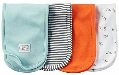 Carter's Baby Boy Burp Cloths 4 Pack ~ This is what Handsome Looks Like ~