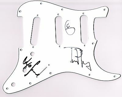 Traveling Wilburys Clapton Petty & Lynne Signed Autographed Guitar Scratch Plate
