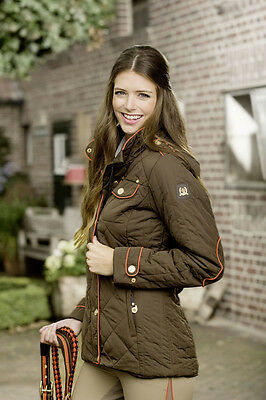 RIDING JACKET -GOLDEN GATE- (7366) - by HKM - RRP $249.95 in Choc, Navy