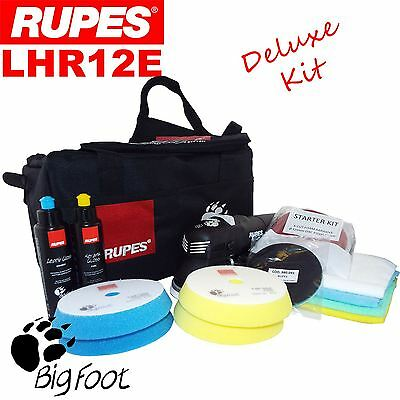 """Rupes BigFoot LHR12E 5"""" Duetto Deluxe Edition Detailing Polishing Machine Kit"""