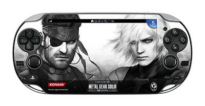 PSV Metal Gear Solid HG bonus Protect Skin Film PS Vita PCH-1000 KONAMI JAPAN FS
