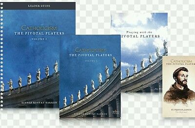 CATHOLICISM: THE PIVOTAL PLAYERS - LEADER'S KIT Robert Barron Word on Fire