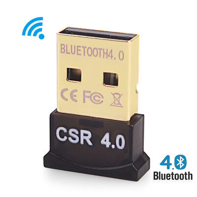 Bluetooth 4.0 USB 2.0 Stick HighSpeed Mini Dongle V4 Nano BT Adapter NEU