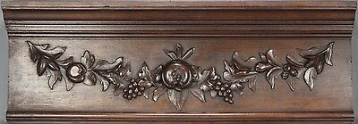 Antique Carved Wood Pediment 19th century