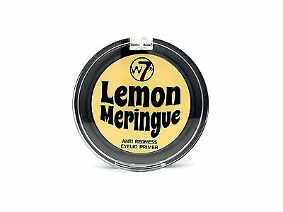 W7 Lemon Meringue Anti-Redness Cream Eyelid Eyeshadow Primer 2g