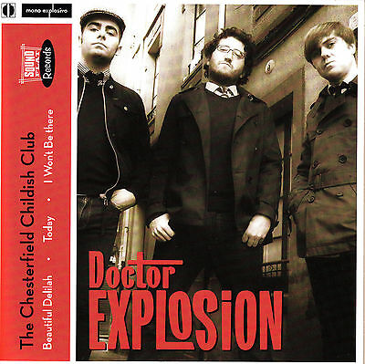 EP DOCTOR EXPLOSION the chesterfield childish club NEW NUEVO 2009 garage mod