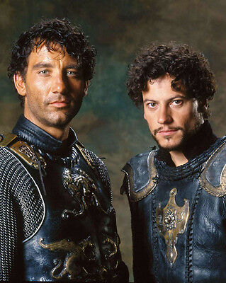 King Arthur UNSIGNED photo - E364 - Clive Owen and Ioan Gruffudd