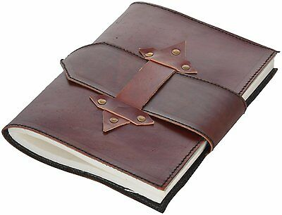 Avtikes Brown Handmade Leather Journal/Diary Organizers Planners